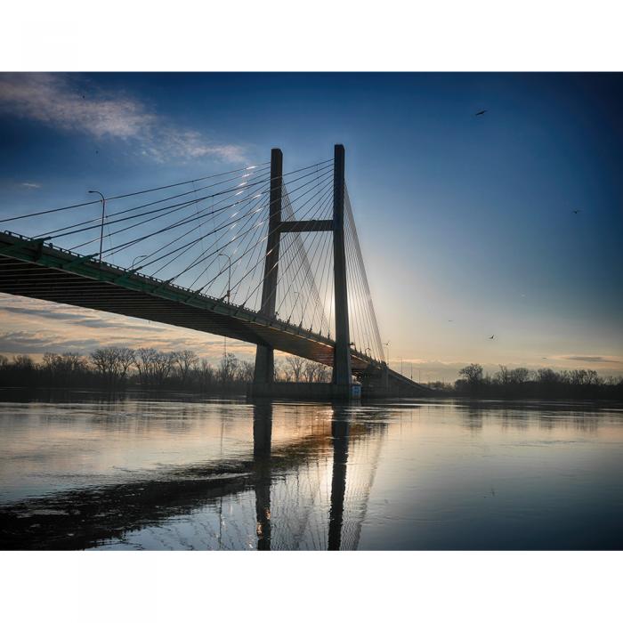 City Bridges – Collection of 3 Signed Color Prints in Black Portfolio