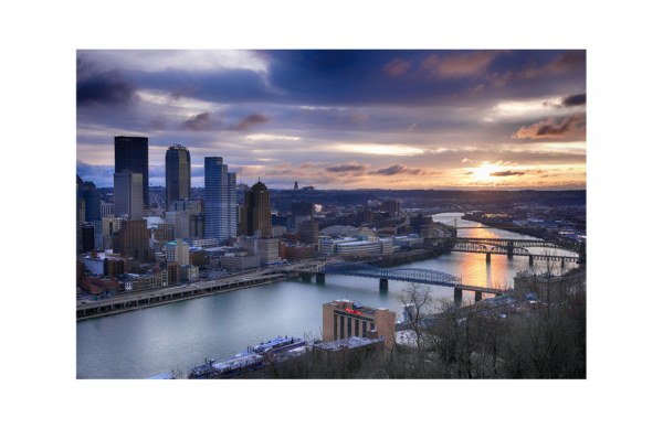 Pittsburgh Sunrise by Paul Richards