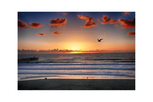 San Diego Beach iii by Paul Richards