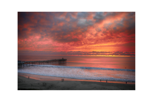 San Diego Beach i - by Paul Richards