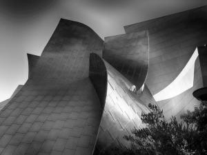 Walt Disney Concert Hall by Paul Richards