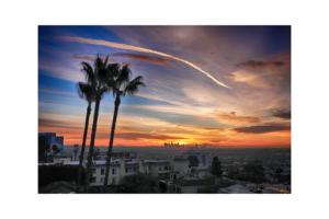 Los Angeles Sunrise I by Paul Richards