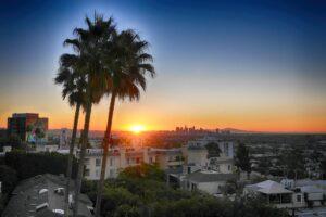 Los Angeles Sunrise II by Paul Richards