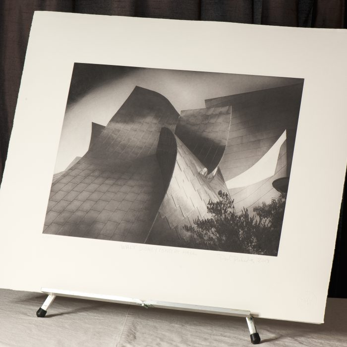 Walt Disney Concert Hall - photogravure by Paul Richards