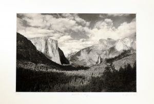 Yosemite in May - Photogravure by Jon Lybrook
