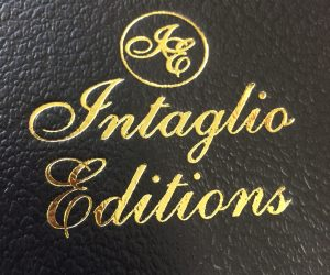 Gold Foil Stamped Folio