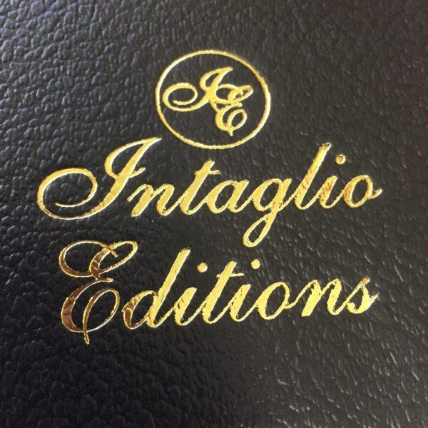 Intaglio Editions Foil Stamped Folio