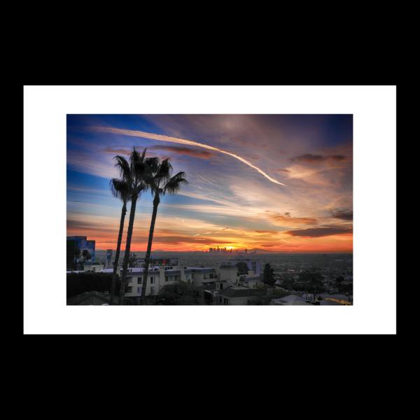 Los Angeles Sunrise by Paul Richards