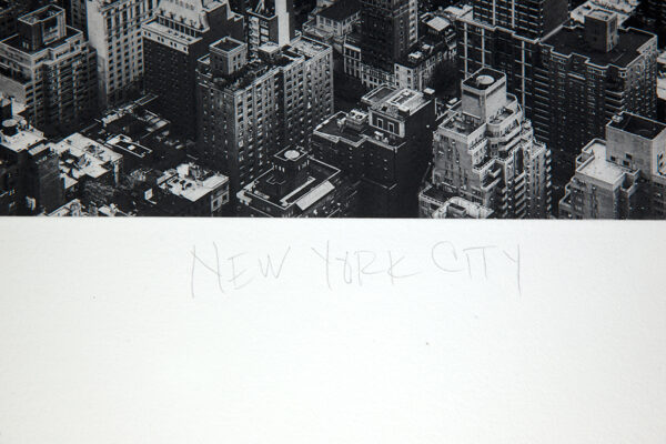 New York City by Paul Richards (detail)