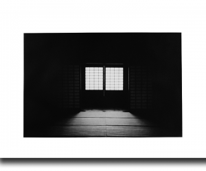 Tatami Doorway - Photogravure by Jon Lybrook