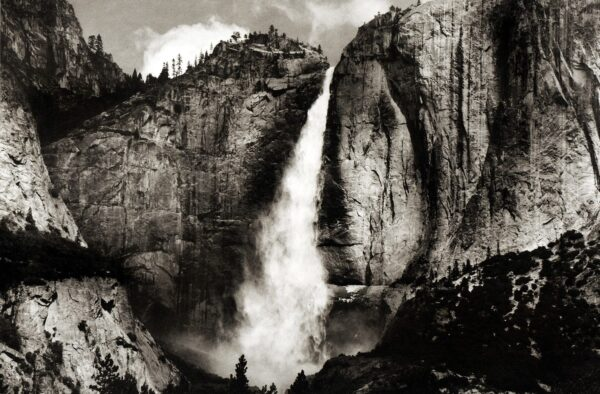 Yosemite Upper Falls by Jon Lybrook