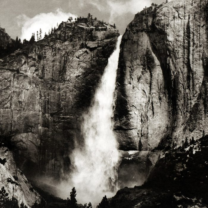 Yosemite Upper Falls by Jon Lybrook
