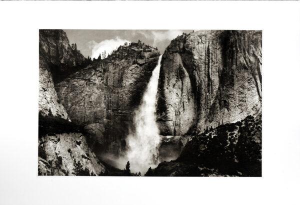 Yosemite Upper Falls Photogravure by Jon Lybrook