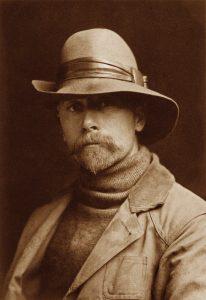 Edward S. Curtis Self Portrait