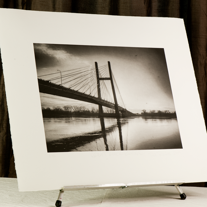 Great River Bridge by Paul Richards