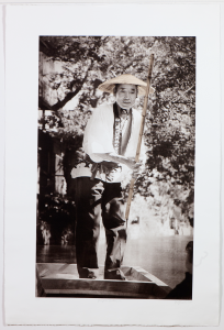 Yanagawa Boatman Photogravure by Jon Lybrook