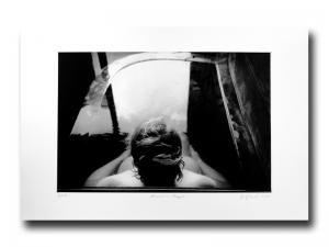 Bonnie in Beppu - Photogravure by Jon Lybrook