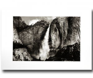 Yosemite Upper Falls Photogravure by Jon Lybrook