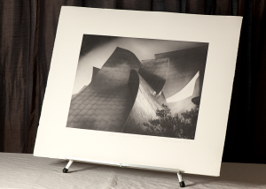 Walt Disney Concert Hall - photogravure by Paul Richards