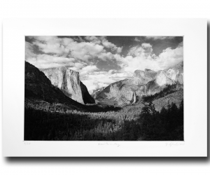 Yosemite in May - Photogravure by Jon Lybrook