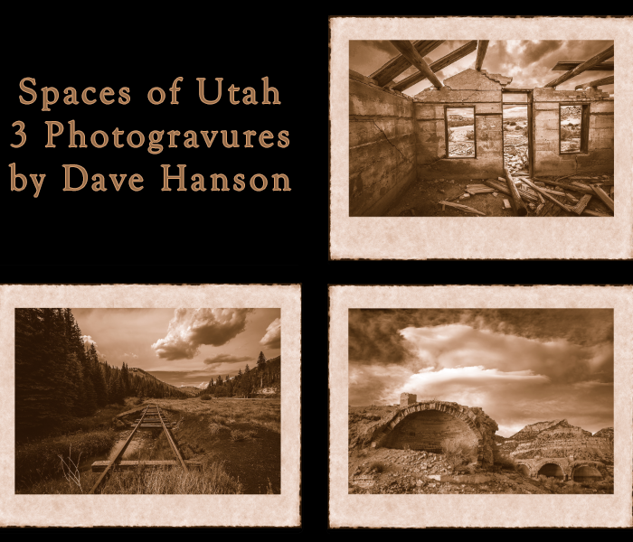 Spaces of Utah Photogravure Collection