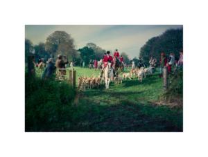 Broad Chalke Fox Hunt by Paul Richards