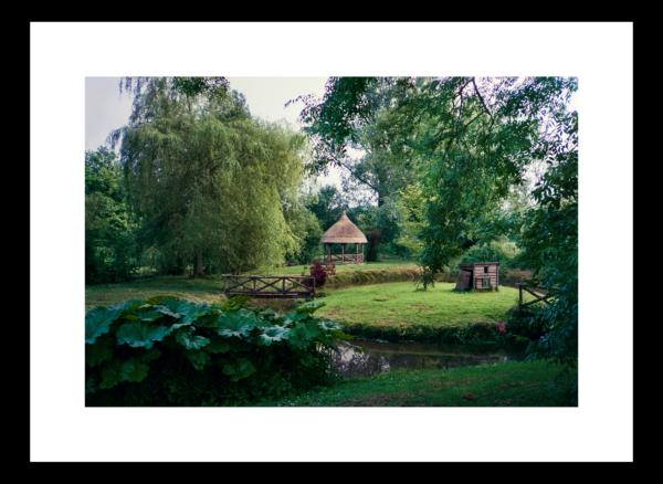 Broad Chalke Garden Gazebo by Paul Richards
