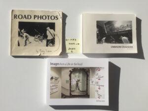 Tony Levin photography books