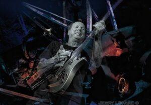Adrian Belew - photographed in concert by Jerry LoFaro